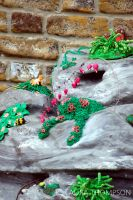 Plasticine Garden - Rockery by lonesomeaesthetic