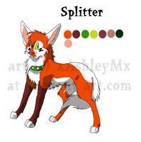 Splitter referance sheet by xAshleyMx