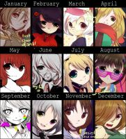 Art Summary 2013 by niekaori
