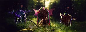 Through the Faery Door Facebook Banner by Lykeios-UK