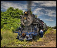 Steam Locomotive 1 by MrParts