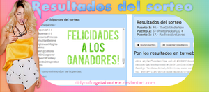 +Resultados - Sorteo 200 points. by DidYouForgetAboutMe