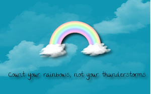 Count Your Rainbows by Menchieee