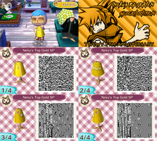 QR CODE ACNL: Neku's Top Golden Special Edition by One-Eco