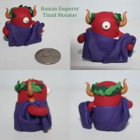 Roman Emperor Timid Monster by TimidMonsters