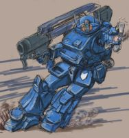 strike dog(AT/VOTOMS) by ickkow