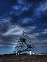 tetrahedron by KunstRitter