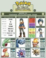 Trainer Application Form by Deepwyrm