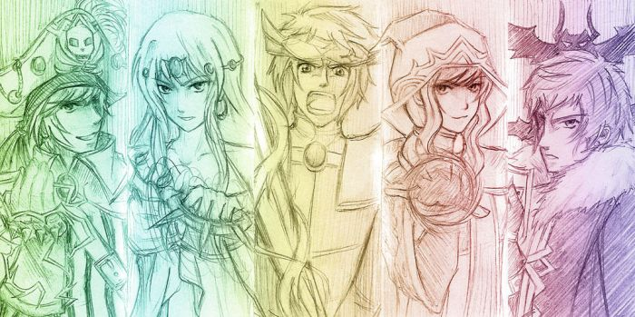 The Knights by Fishenod