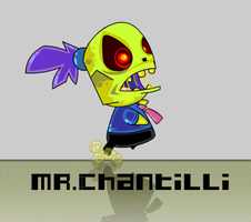 Mr. Chantilli by vancamelot