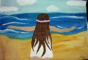 By the Shore by Jess2Lucky