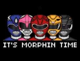 It's Morphin Time by jamesy165