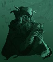 Radagast and Friends by kallielef