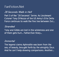 Rainmeter Fanfiction.net RSS Feed 1.1 by cloudedhearts