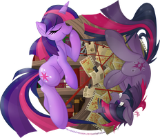 Twilight Sparkle - Harbinger of Magic by FallenInTheDark