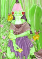 Phoebe- spring painting by firesprite
