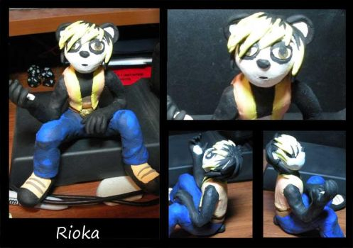 Rioaka Sculpture by lordzasz