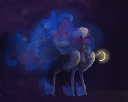 Moon Hoarse by Pigeonbby