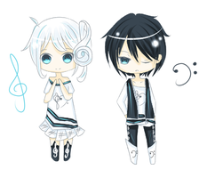 Adoptables - Clefs {CLOSED!} by puromisu
