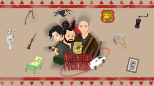 American Pickers Anime Style by finalverdict