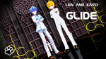 [mmd] Len and Kaito- Glide (video) by AmeliaRoseHedgehog