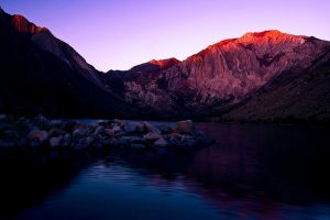 First Light, Convict Lake by shubat