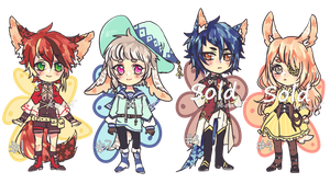 Hanakomi adopts 4 Auction CLOSED by Kaiet