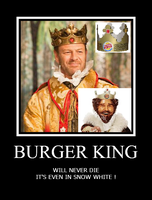Burger King in Snow White ? by mephilesxdarkness