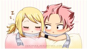 NaLu - Oi Lucy! Wake Up! by xuei0000