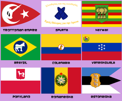 MLP Countries 2 by Brony-Artisan