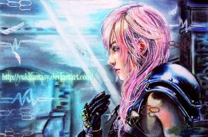 LIGHTNING FARRON II [KNIGHT OF THE GODDESS] by YukiFantasy