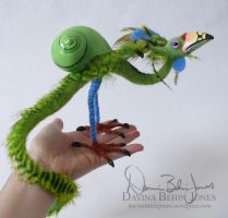 Snail Bird by FamiliarOddlings