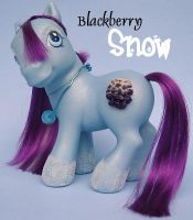 Custom MLP- Blackberry Snow by songbird21