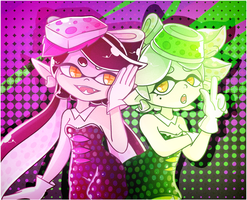 Squid Sisters by Ghiraham-Sandwich