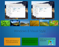 Windows 8 VS 'v1.2' by Misaki2009