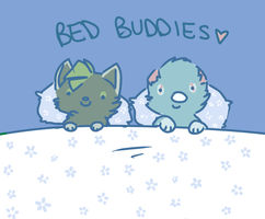 BED BUDDIES by PirateGirl-Tetra
