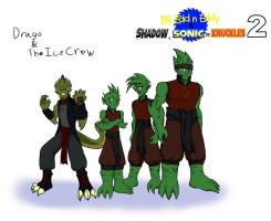Main Villains part 2 Drago and The Ice Crew by WaRrior9100