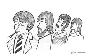 Beatles by tolemach