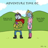 Adventure Time OC Nina's Parents by The-Clockwork-Crow