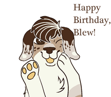 Happy birthday! [GIFT] by thedoomedkitteh