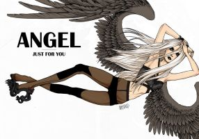 ANGEL by GRAYSCALED
