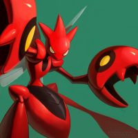 SCIZOR by EvilApple513