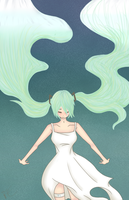 MIKU: So long, Good Night by CaittheCat