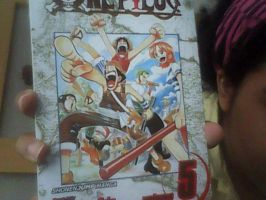 My 14th One Piece Volume by XfangheartX