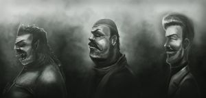 The Good The Bad And The Ugly by elnady