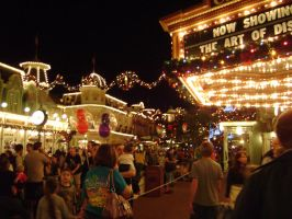 Holiday On Main Street by CanisCamera