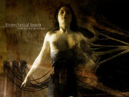 Biomechanical beauty by Underworldsun