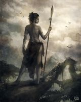 Warrior Woman by Rob-Joseph