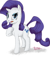 Trademark Rarity Gasp by sofas-and-quills