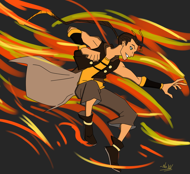 Valiant Flame. by NoXV